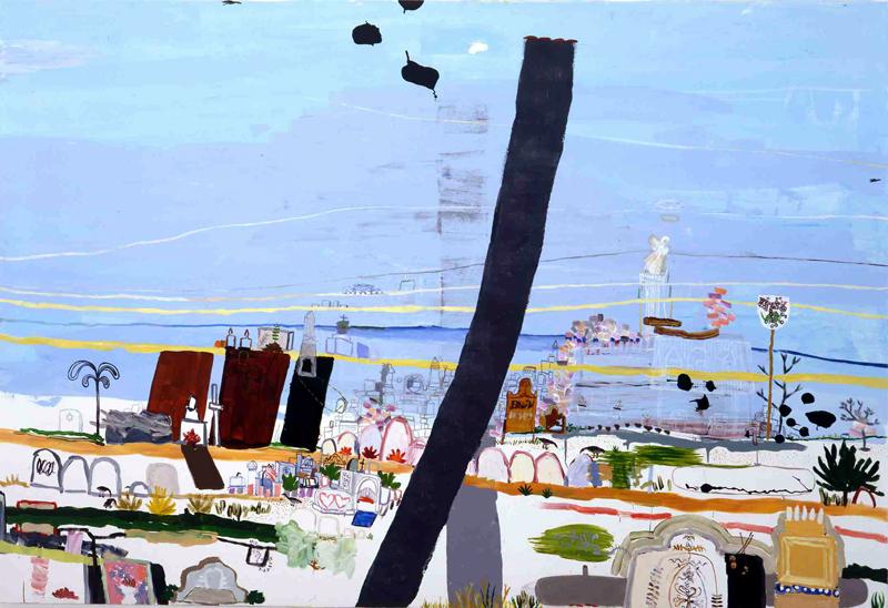 The Death of Sinclair, 2003, acrylic on canvas