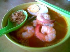 Kuching's Penang prawn mee