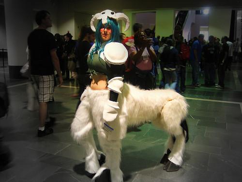 Amanda Dunham in a stunning centaur costume