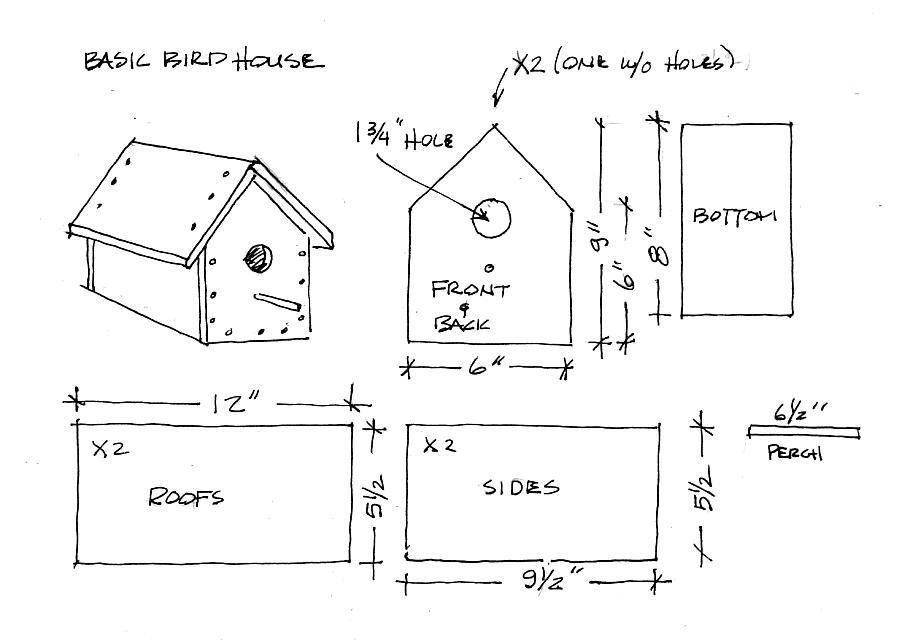 free birdhouse patterns