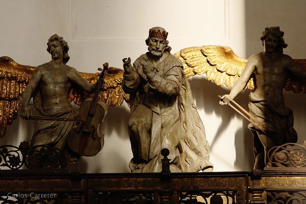 Con los ángeles