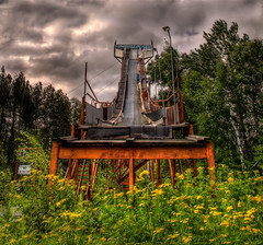 Ghosts of Champions Past (aka Neglected Ski Jump - Cloquet, MN)