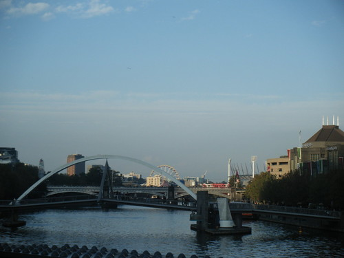 The Yarra, Southbank and the G