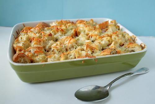 Curried Broccoli Chicken Cassarole