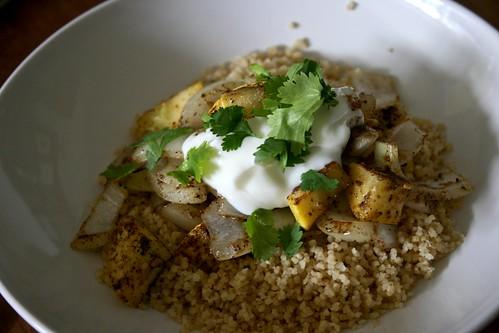 Veggie Cumin Couscous