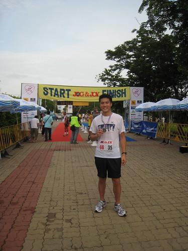 Another 10k finish (Bangkok, Thailand)
