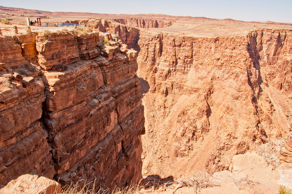 The edge of the Little Colorado Gorge