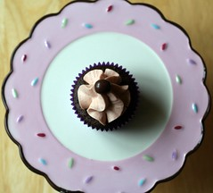 double espresso chocolate caramel cupcake