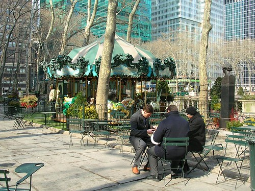 Lunchtime in Bryant Park