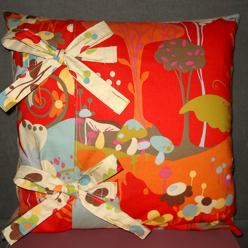 Wonderland Cushion (back)
