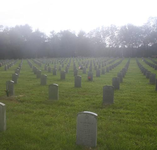 National Cemetery-Bushnell,Florida by jayfherron