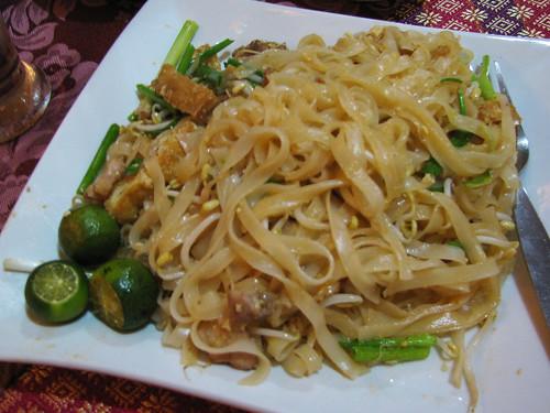 Pad Thai at Krung Thai