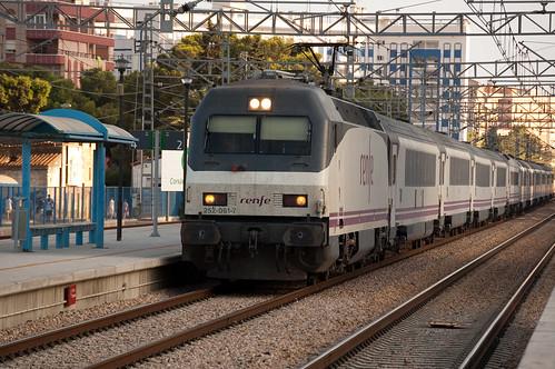 Tren Valencia - Barcelona