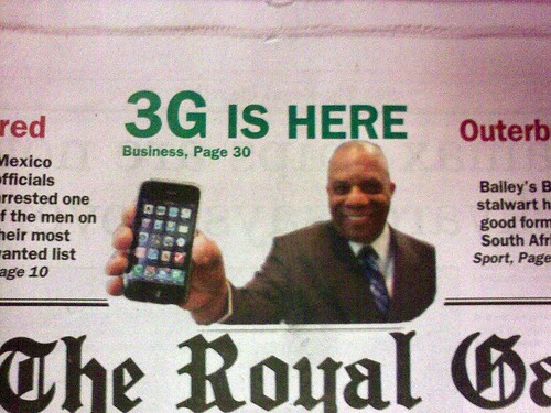 3G available in Bermuda