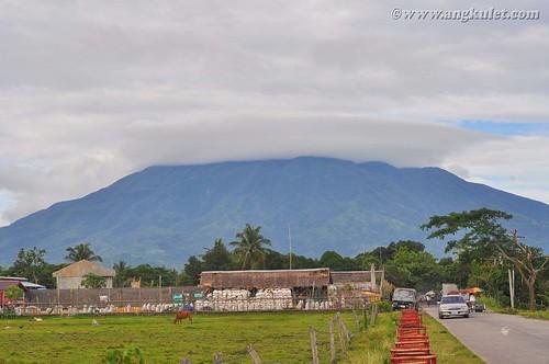 View of Mt. Isarog from La Purisima, Pili, Camarines Sur