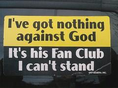 Funny Religious Sticker