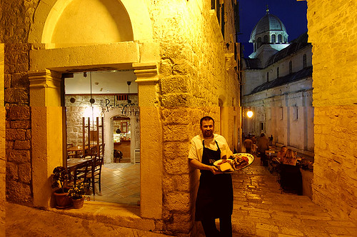 Rudi Štefan - the chef!