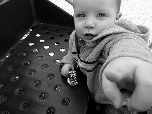 Patrick at the Playground