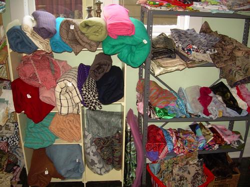 Acres of fabrics