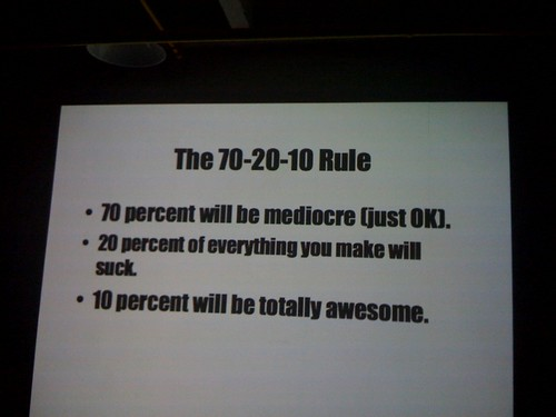 70-20-10 rule