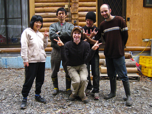 Goodbye host and wwoof'ers!