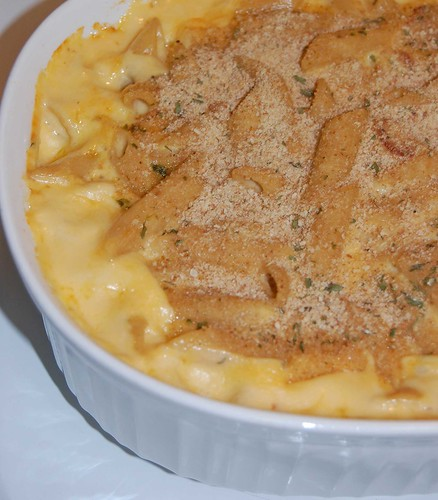 Corner of Macaroni and Cheese