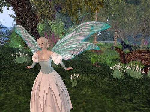 Flick Pastel Scripted Wings - Fancy Fairy Group Gift!