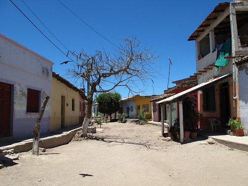 Calle Venezia in the dry season