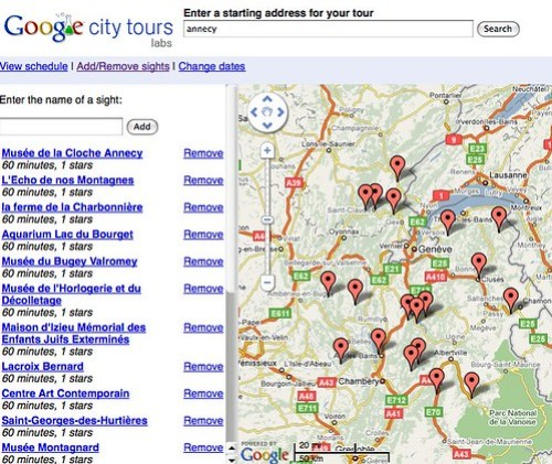 Google City Tours by you.