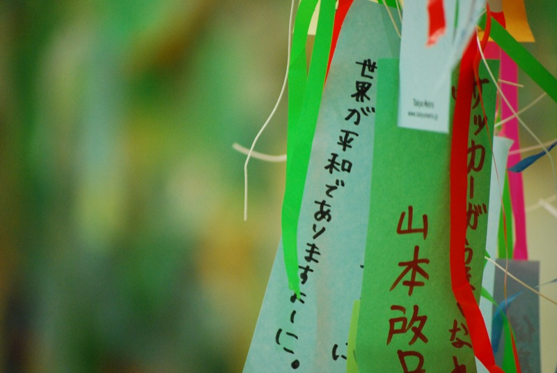 Tanabata Festival Orihime Hikoboshi