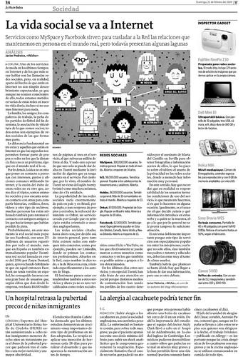 Redes Sociales en La Voz de Galicia