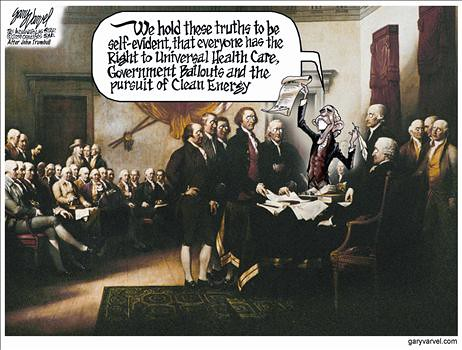 To Liberals, the Constitution is a Living Breathing Document by wstera2.