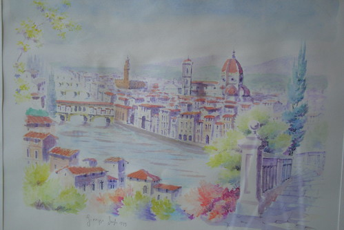 Watercolor of Florence
