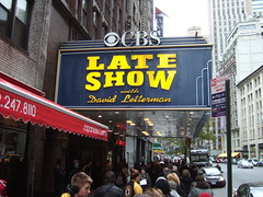 Late Show with David Letterman, NYC, 11/20/08 ...