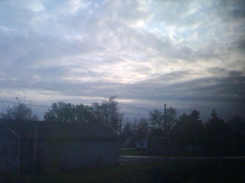 early morning in Bryan, OH