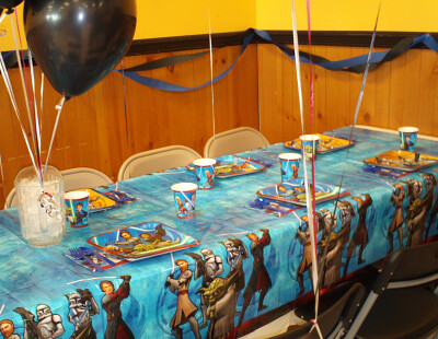 Star Wars Clone Wars birthday party supplies