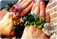 flower rings! by Circa Gallery