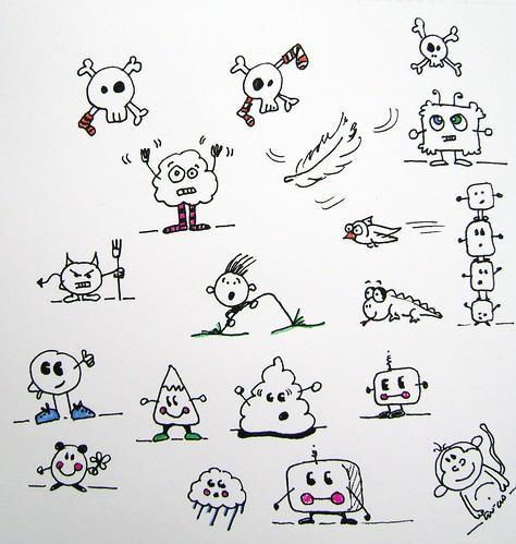 Doodles 20090429