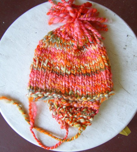 subtle stripes hat