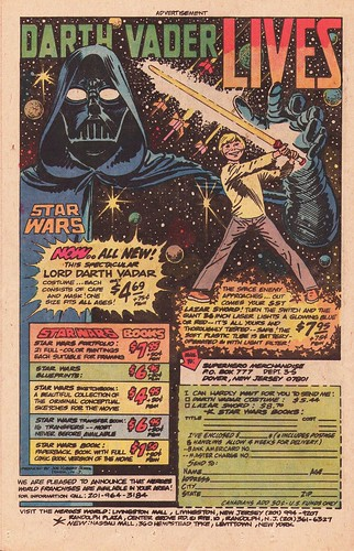 Star Wars books ad