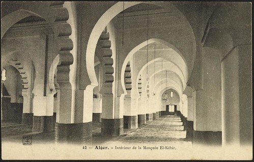 Interior view, El-Kébir Mosque (GRI)