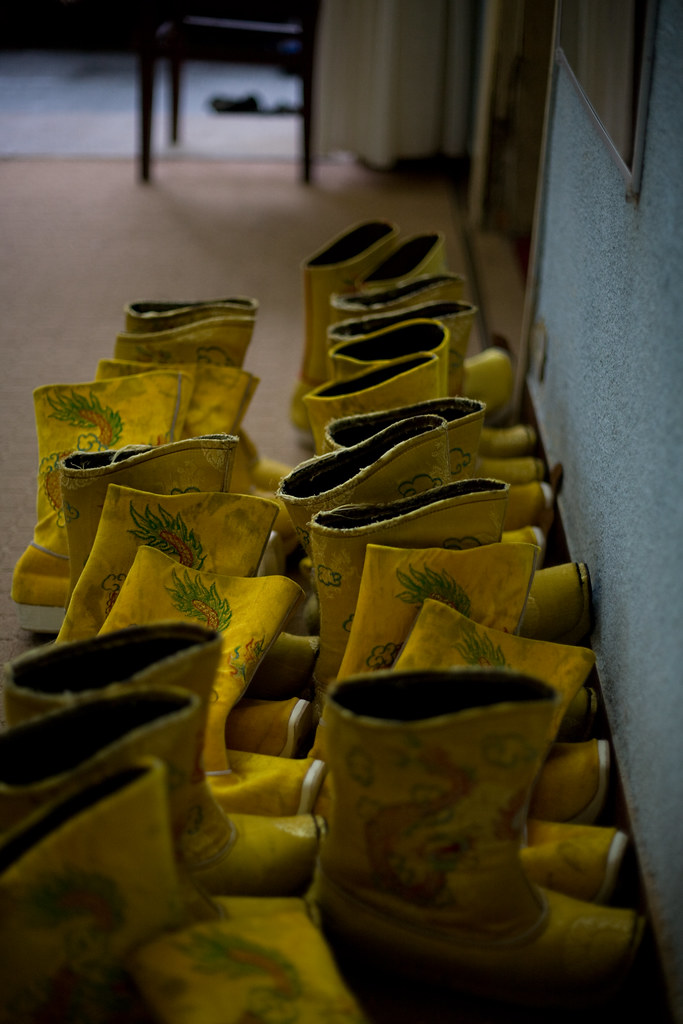 The Queen's Yellow Shoes