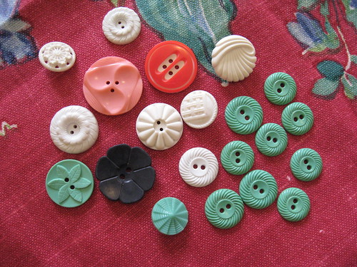 vintage buttons by you.
