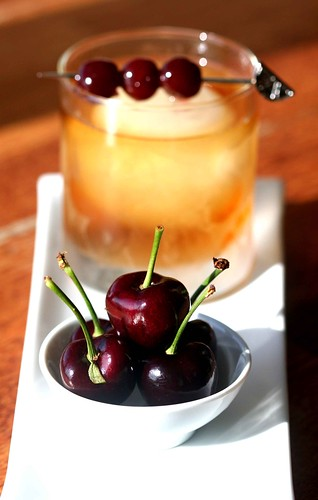 Cherry Old Fashioned