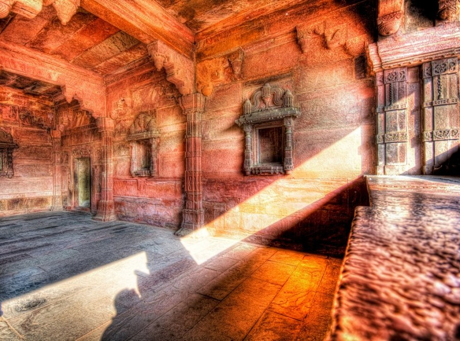 The Glowing Shaft of Light