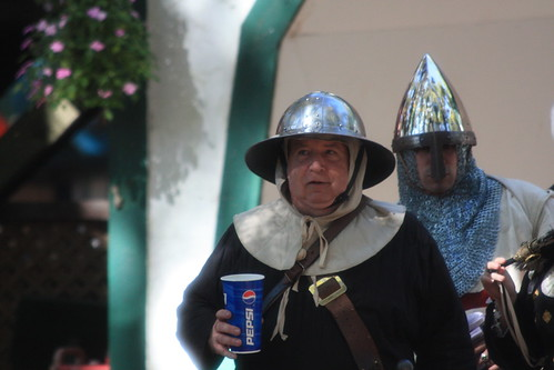 Continuity Problem at Medieval Faire