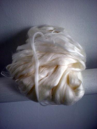 milk spinning fiber