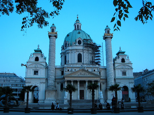 Karlskirche - Vienna by you.