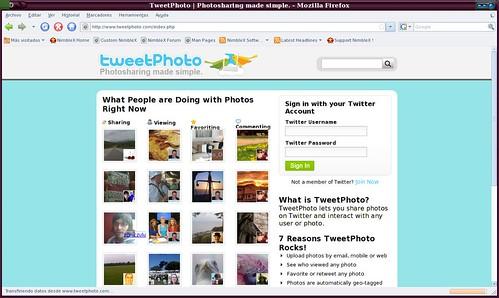comparte fotos fácilmente