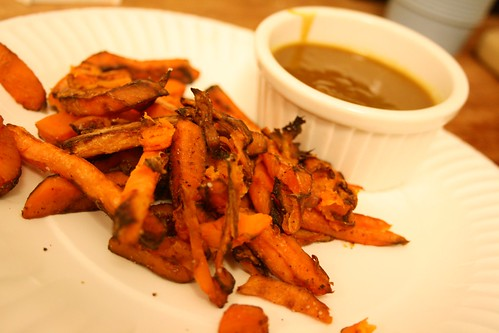 Sweet Potato Curry Fries